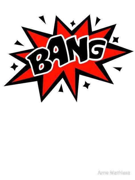 Comic Bang Speech Bubble Book Explosion Cartoon