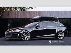 Build It Now Tesla Model S Wagon
