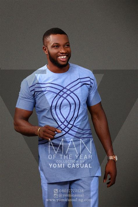 Yomi Casuals Man Of The Year Collection Lookbook