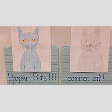 First Grade Fingerprints Nouns With Proper Pete And