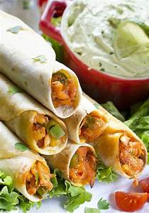 easy chicken taquitos recipe chicken wraps with