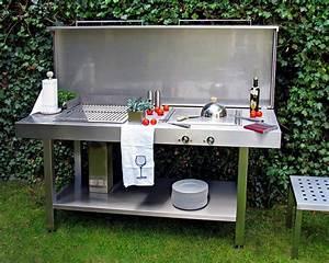 Waschbecken Für Draußen : die outdoork che genussvoll drau en kochen sch ner ~ Michelbontemps.com Haus und Dekorationen