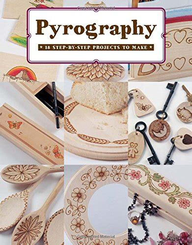 pyrography  step  step projects   book