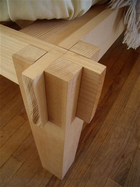 japanese joinery    bed diy wood working
