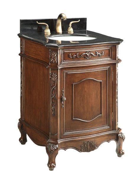 granite top vanity adelina 24 inch antique bathroom vanity sink black