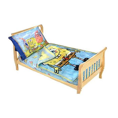 Spongebob Toddler Bed Set by Tropical Bedding Quotes