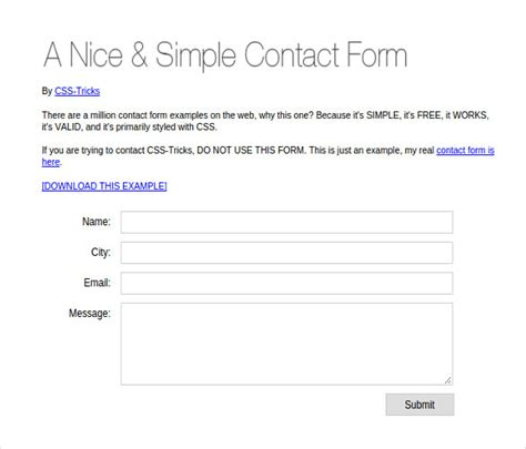 simple contact form php contact form with validation phpsourcecode net