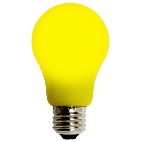 colored light bulbs home depot meilo 4w equivalent yellow a15 evo360 led light bulb 55d