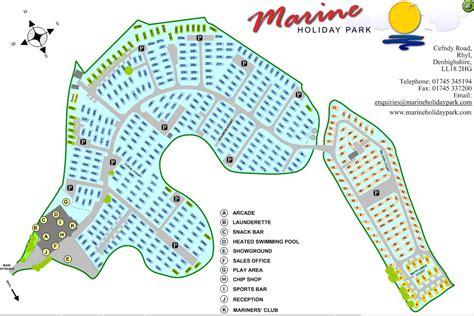 Park Map  Marine Holiday Park