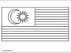 Coloring page flag Malaysia img 6296