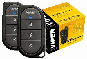 Viper 4105v 1-way 4-button Remote Start System