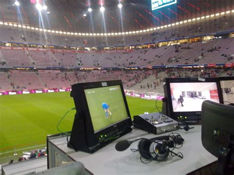 Microphone Usage for Sports Broadcasting | LIVE-PRODUCTION.TV