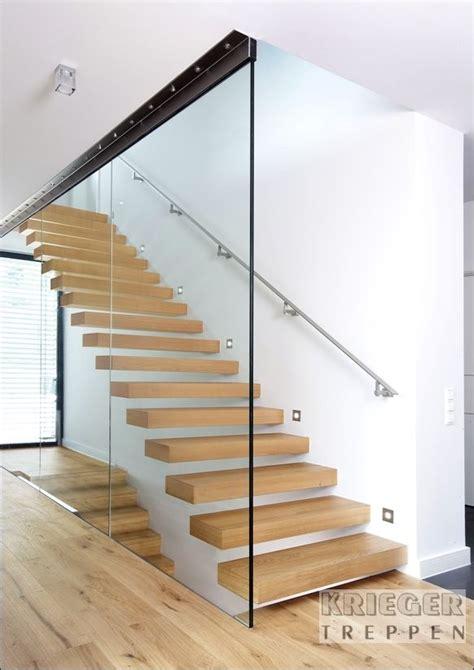Glasgeländer Treppe Preis by Mittelholmtreppe Mit Ganzglasgel 228 Nder Bauen