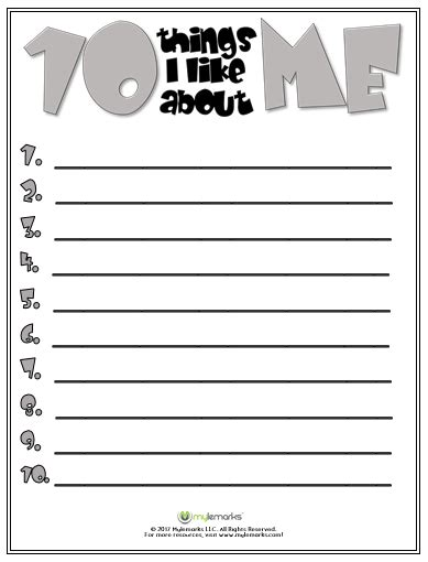 Self Esteem Worksheet Worksheets For All  Download And Share Worksheets  Free On Bonlacfoodscom
