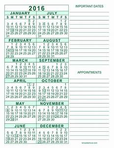 2020 Yearly Calendar Word Free Calendar 5