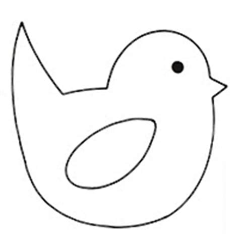 The Gallery For --> Easter Chick Template