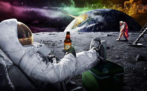 Fond d'écran : espace, humour, véhicule, Lune, Bière ...