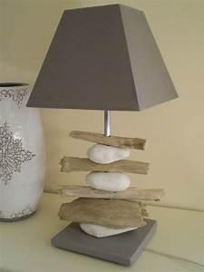 Ou Acheter Du Bois Flotté : lampe bois flott et galets photo de lampes la belle ~ Teatrodelosmanantiales.com Idées de Décoration