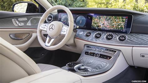 mercedes benz cls  matic  spec interior