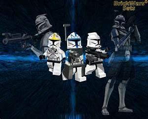 BrickWars-Sets: Clone Army | Lego Star Wars FREE Wallpaper
