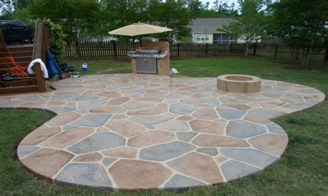 Concrete Patio Ideas by Concrete Back Yard Patio Ideas Back Yard Concrete Patio