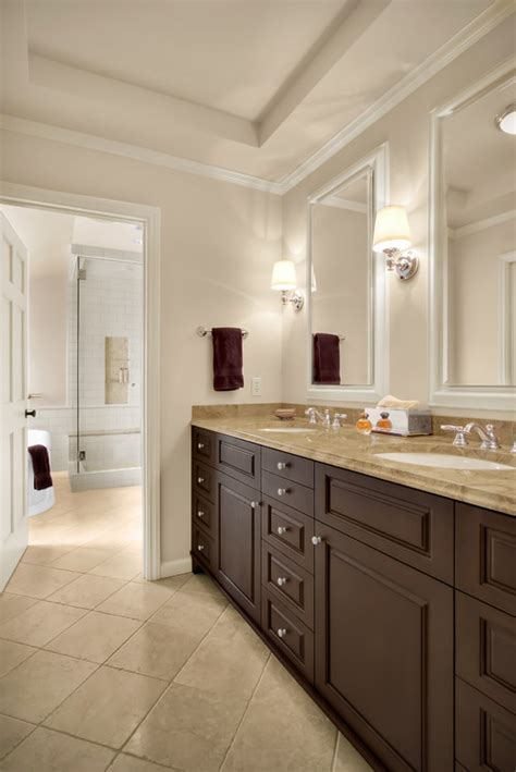White 36 Bathroom Vanity Without Top by Traditional Bathroom Design By Seattle Architect Knowles Ps