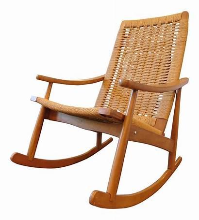 Rocking Chair Wicker Hans Yugoslavian Wegner Chairish