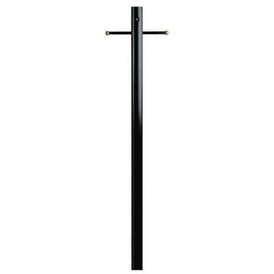 l post dusk to dawn sensor westinghouse black steel lantern post with ground
