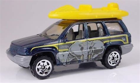 matchbox jeep grand cherokee matchbox jeep grand cherokee with raft