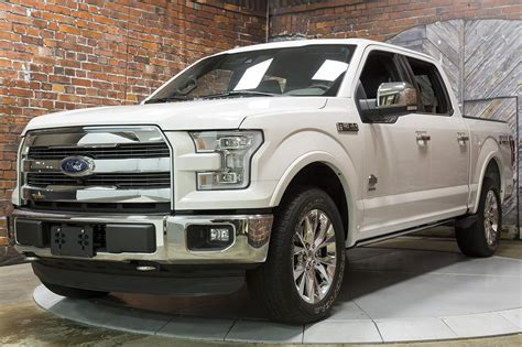 2015 Ford F150 4x4 Supercrew Ecoboost King Ranch