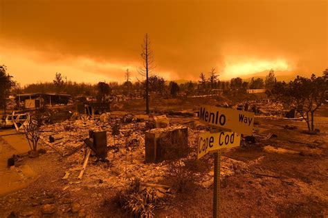 California's fires are disruptive long after they are put out, displacing homeowners and even entire communities for months or years. California wildfires: Deadly fire tornado reaches wind ...