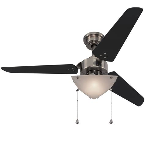 harbor ceiling fan light kit replacement shop harbor impact 48 in polished pewter indoor