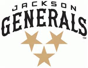 Jackson General Baseball Logo