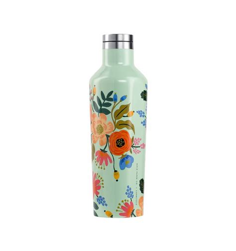 rifle paper lively floral oz canteen corkcicle imported