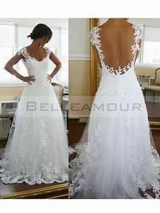 robes de mariee dos nu dentelle With robe mariée dos dentelle