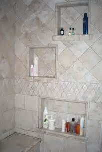 Built in Tile Shower Shelf
