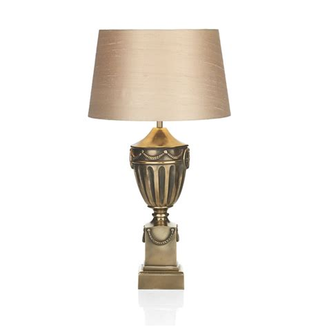 Urn Table Lamps by Rustic Bronze Urn Table Lamp Base Switched Amp Double