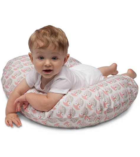 boppy nursing pillow boppy nursing pillow with slipcover mod owls
