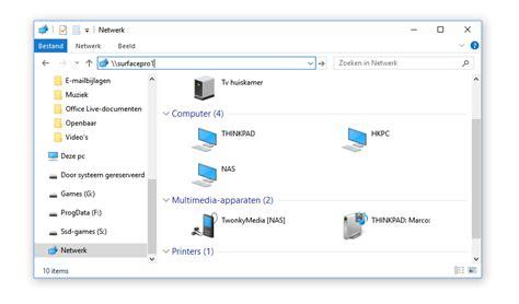 Thuisnetwerk Instellen Voor Windows 10, Zonder