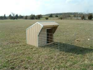 Loafing Shed Plans Goats by Goat Products