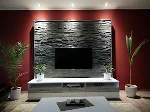 Schöne Einrichtungsideen Wohnzimmer : sch ne w nde wohnzimmer ~ Frokenaadalensverden.com Haus und Dekorationen