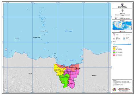 administrasi provinsi dki jakarta peta tematik indonesia