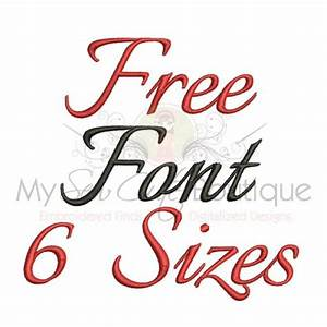 Free embroidery fonts embroidery fonts pinterest for Embroidery prices per letter