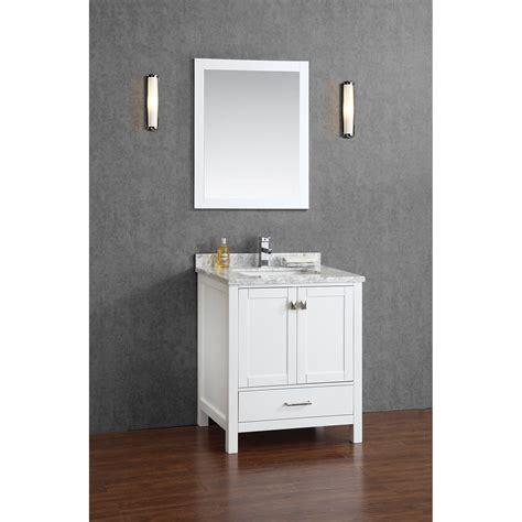 buy vincent 30 inch solid wood bathroom vanity in