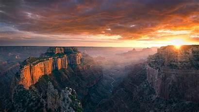 Canyon Grand Sunset Royal Cape Arizona Landscape