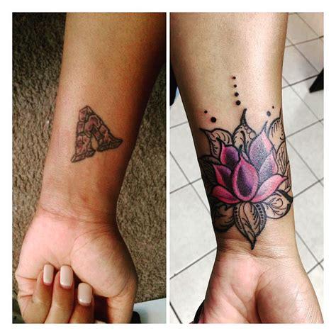 lotus flower tattoo wrist ideas  pinterest