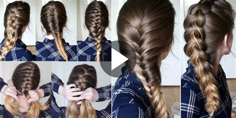 6 Hairstyle Learn In 20 Minutes How To Braid Your Own