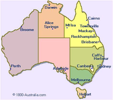 city map  australia   australiacom education