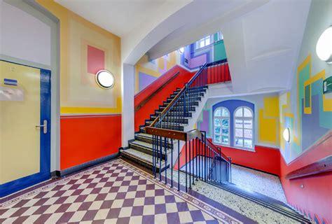kunst und kreativ itzehoe treppenhaus willkommen an der kaiser karl schule