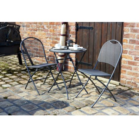 cafe latte table and 2 chairs set iron grey iwoot
